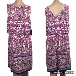 NWT Vince Camuto knee length Dress